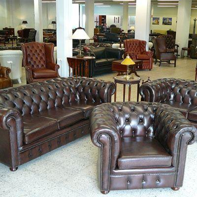 Chesterfield Sessel und Sofas